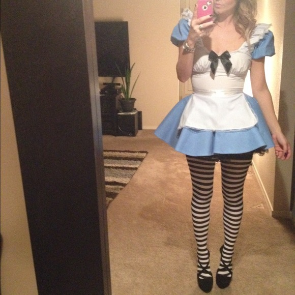 53% off Dresses & Skirts - Alice In Wonderland Halloween Costume from Mia's closet on Poshmark Alice In Wonderland Halloween Costume - 웹