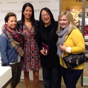 Meeting Rebecca Minkoff at Nordstrom Seattle