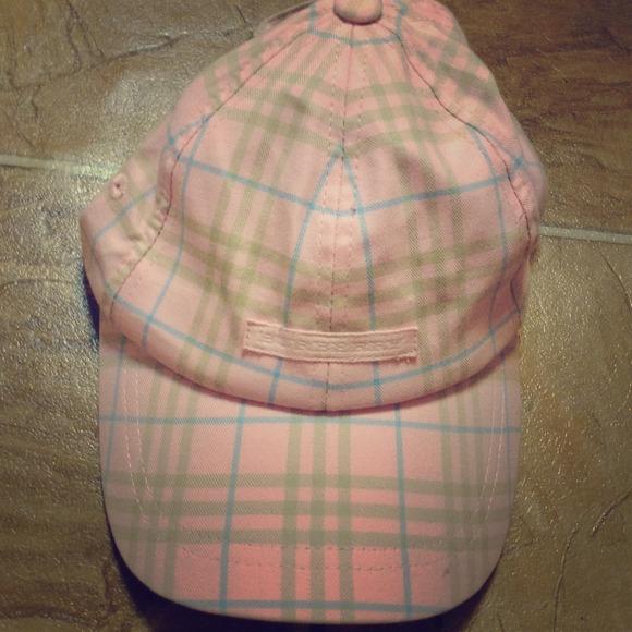 Burberry Accessories - Pink Burberry baseball hat beb57a5ba08