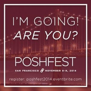 PoshFest Accessories - I'm going to PoshFest 2014 in San Francisco!