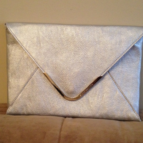 655db4feb06 Steve Madden Bags | New Without Tags Silver Envelope Clutch | Poshmark