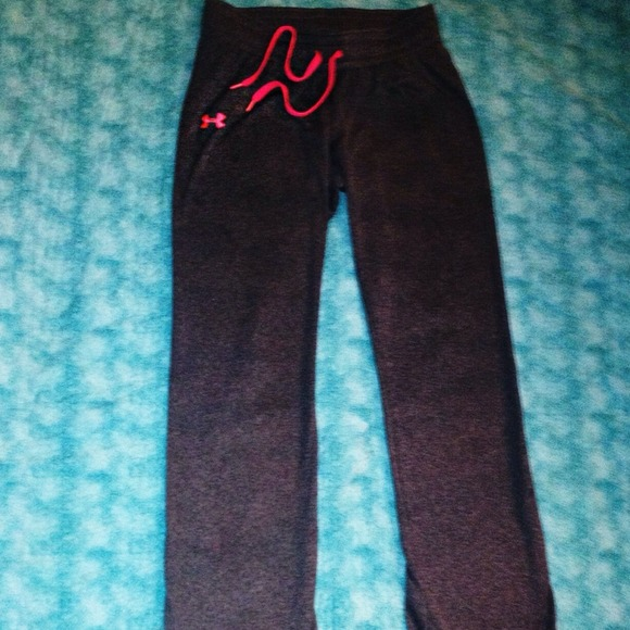 Under Armour Pants - Women s Under Armour Sweat Pants Breast Cancer 5d4f7f3dac
