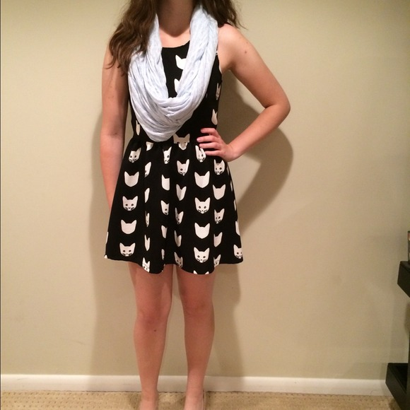 a0f37327c3c54 H&M Dresses | Cat Skater Dress | Poshmark