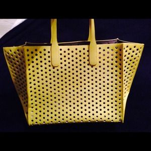 Not For Sale-Zara Yellow Tote
