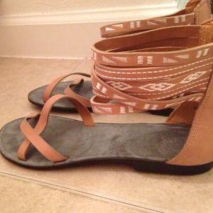 Nine West gladiator summer sandals