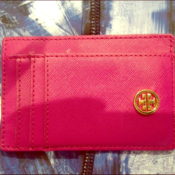 70 Off Tory Burch Clutches Wallets Tory Burch Card Holder