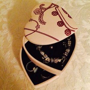 Cmgamm Pandora Heart Shaped Jewellery Box