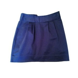Urban Outfitters Structured Blue Skirt