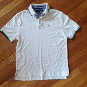 Tommy Hilfiger Tops - White polo