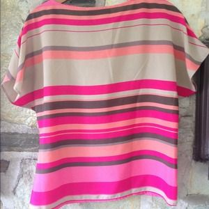 Ann Taylor Tops - Ann Taylor Loft bright striped blouse