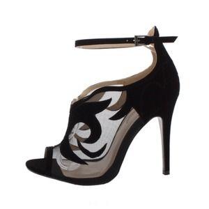 Shoes - Designer inspired black Rapture Heel