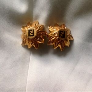 Vintage Fendi Earrings
