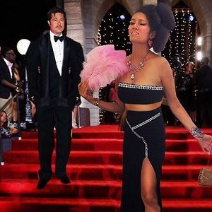 """Dresses & Skirts - """"Brad Pitt Is Looking At Me"""" Long Sparkle Skirt"""