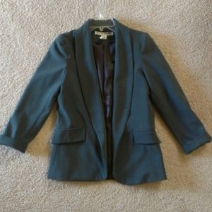 Forest emerald green blazer NWOT.