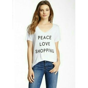 Project Social Tops - Peace Love Shopping T ✌💘💵