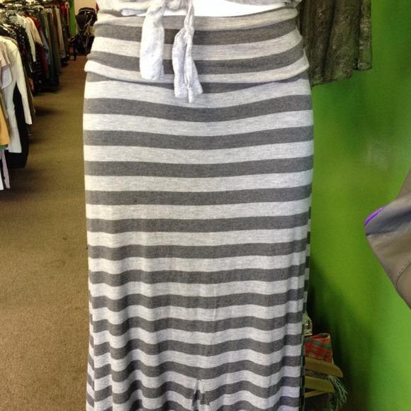 Athleta Dresses - Athleta striped splendor maxi