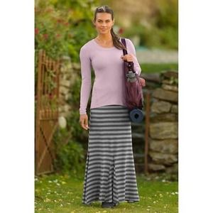 Athleta Dresses - Athleta striped splendor maxi