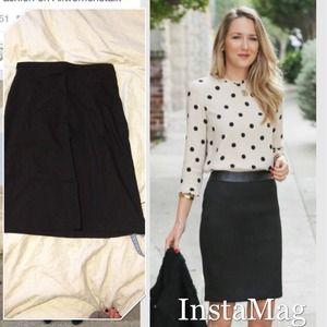 Benetton black skirt Size 38/ US S