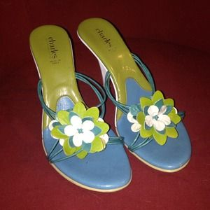 Sexy vintage strappy heels