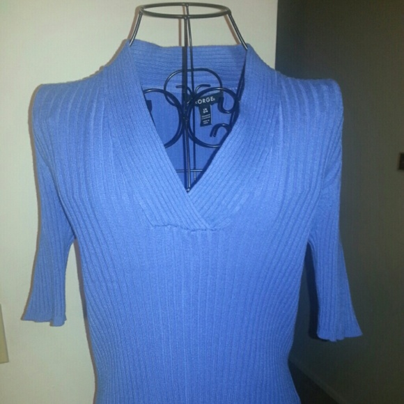 George - Periwinkle blue sweater from Lynn's closet on Poshmark