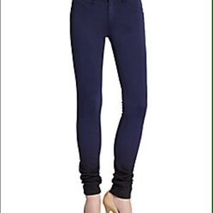 "Rag & bone/jean ""the legging"" blue to black ombré"