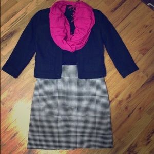 Dresses & Skirts - Petite Checkered Pencil Skirt - 2P
