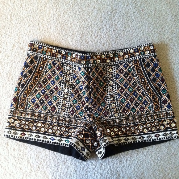 sale online fashion style good Zara Other | Embellished Shorts | Poshmark