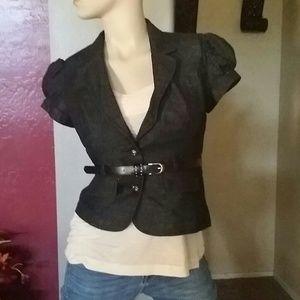 Jackets & Blazers - Cute Denim Girly Blazer