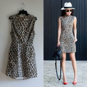 Alice+Olivia Leopard Dress XS/0