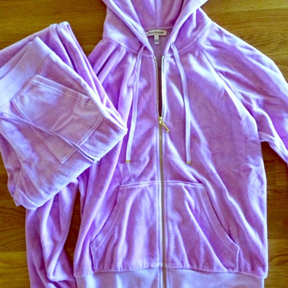 Juicy Couture Jackets   Blazers - Lilac Juicy Couture Tracksuit caff3bb3a