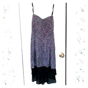 BCBGENERATION STRAPLESS DRESS (SIZE L)