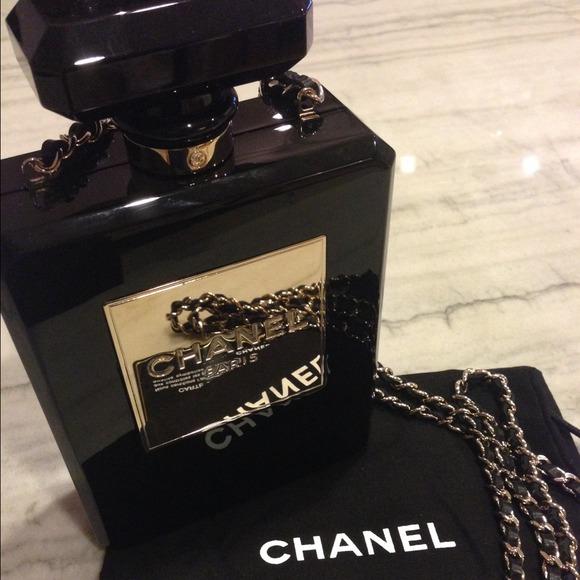 CHANEL Bags   Plexiglass Perfume Bottle Bag   Poshmark a167b1ded0