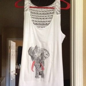 X2 HP Hand drawn elephant tank