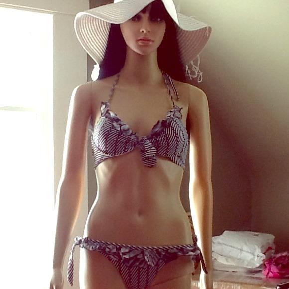 CHIO Other - Black and White CHIO Bikini NWOT