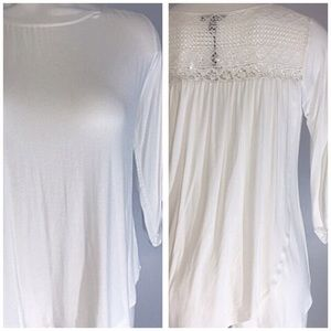 Cupio Ivory w/ Crochet Top