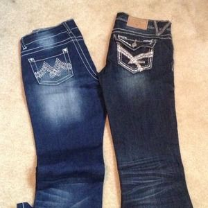 Amethyst jeans and toxic jeans
