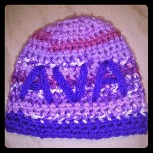 Personalized Crochet Beanie for Kids