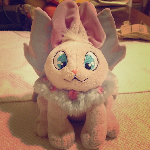 Plushies Neopets Neopets Faerie Cybunny Plushie