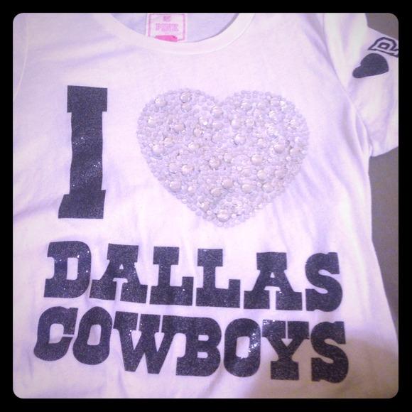 7d653548cab Victoria's Secret PINK Dallas Cowboys shirt bundle.  M_53c346f27819507519146af4