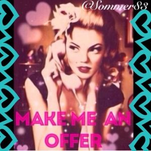 Other - *MAKE AN OFFER* POSHMARKS NEW SELLING OPTION🎉👍😃
