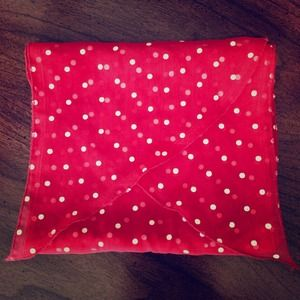 Accessories - Red & White Polka Dot Scarf