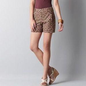 Ann Taylor LOFT Printed Shorts