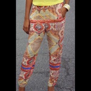 Zara Printed Pants