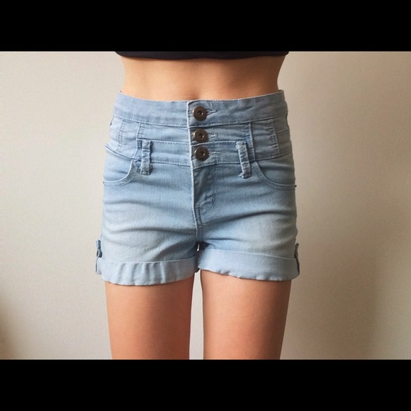 67% off Cotton On Denim - Cotton On Jean Shorts High waisted from ...