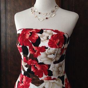 WHBM Tropical Print Dress ❤️HostPick❤️x2