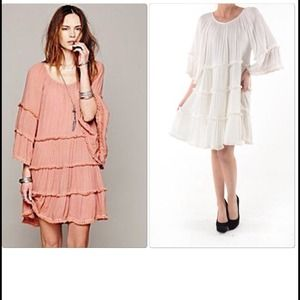 BOUTIQUE Dresses & Skirts - LAST ONE SALE !Stunning White Boho Tunic Dress