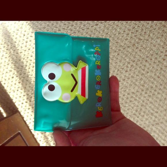 Hello Kitty Clutches   Wallets - Keroppi hello kitty plastic wallet e87de8b623619