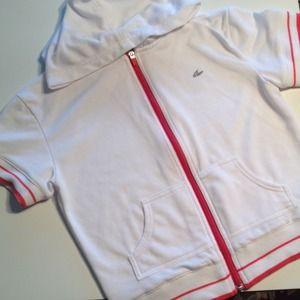 Etonic Jackets & Blazers - Etonic Short Sleeve Hoodie Jacket