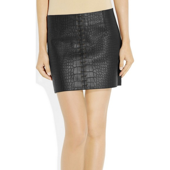 48% off Alexander Wang Dresses & Skirts - Alexander wang croc ...