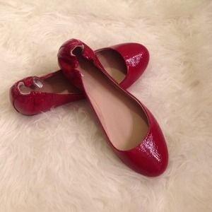 Mossimo Supply Co. Shoes - Red Ballet Flats 😍